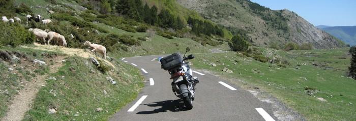 moto - pyrenees - hotel mila - andorra